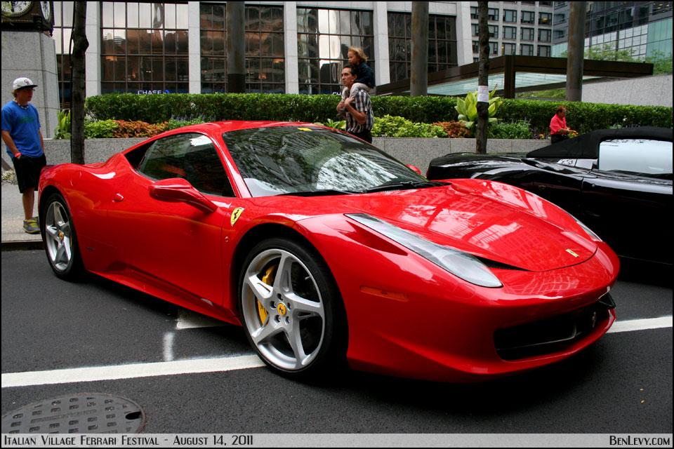 Red Ferrari 458 Italia Benlevy Com