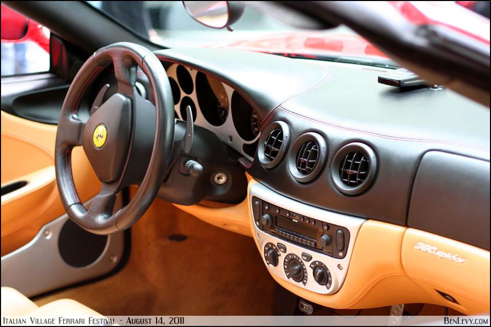 Ferrari 360 Modena Interior - BenLevy.com