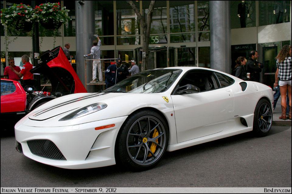 White Ferrari 430 Scuderia Benlevy Com