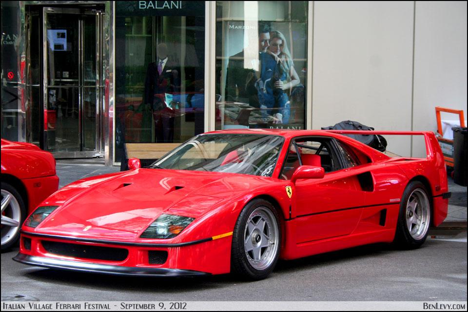 Red Ferrari F40 Benlevy Com