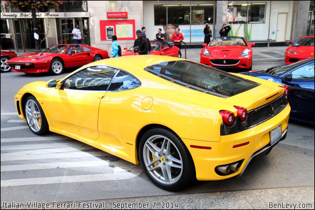 Yellow Ferrari F430 Benlevy Com