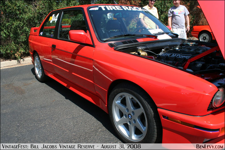 Red E30 BMW M3 - BenLevy.com