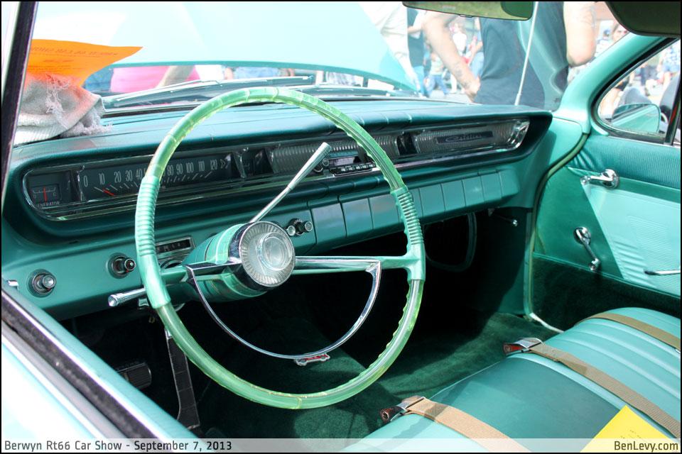 1961 Pontiac Catalina interior - BenLevy.com