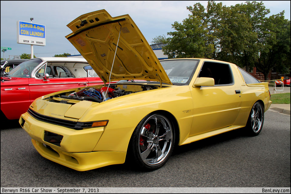Yellow Chrysler Conquest Tsi Benlevy Com