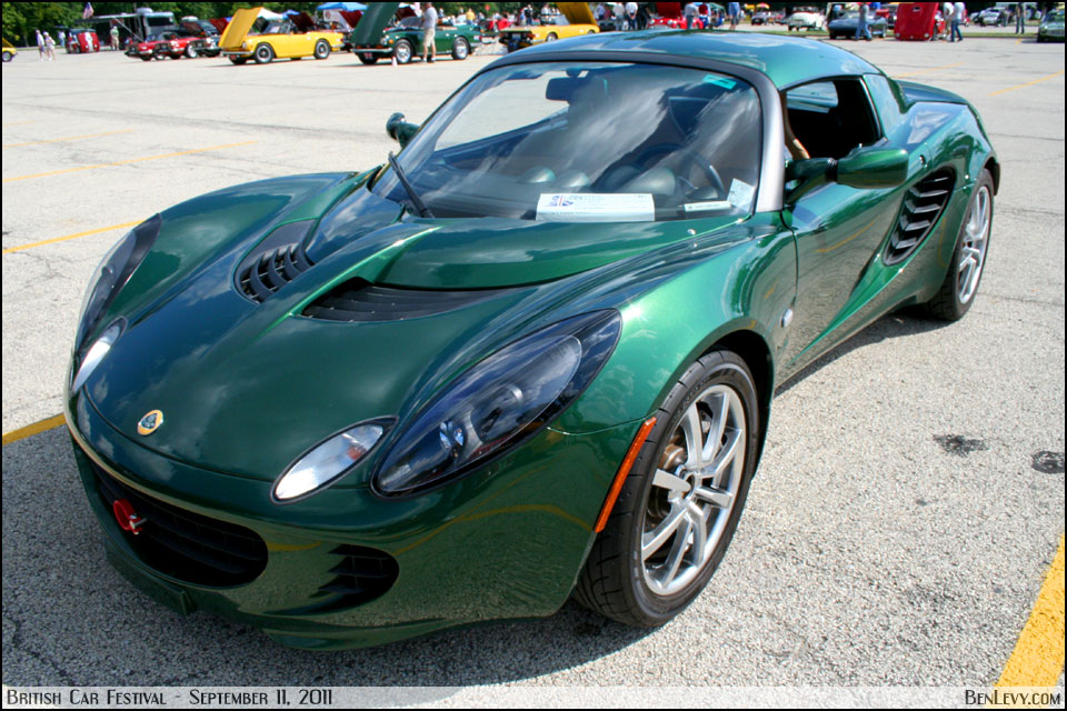 Green Lotus Elise Benlevy Com