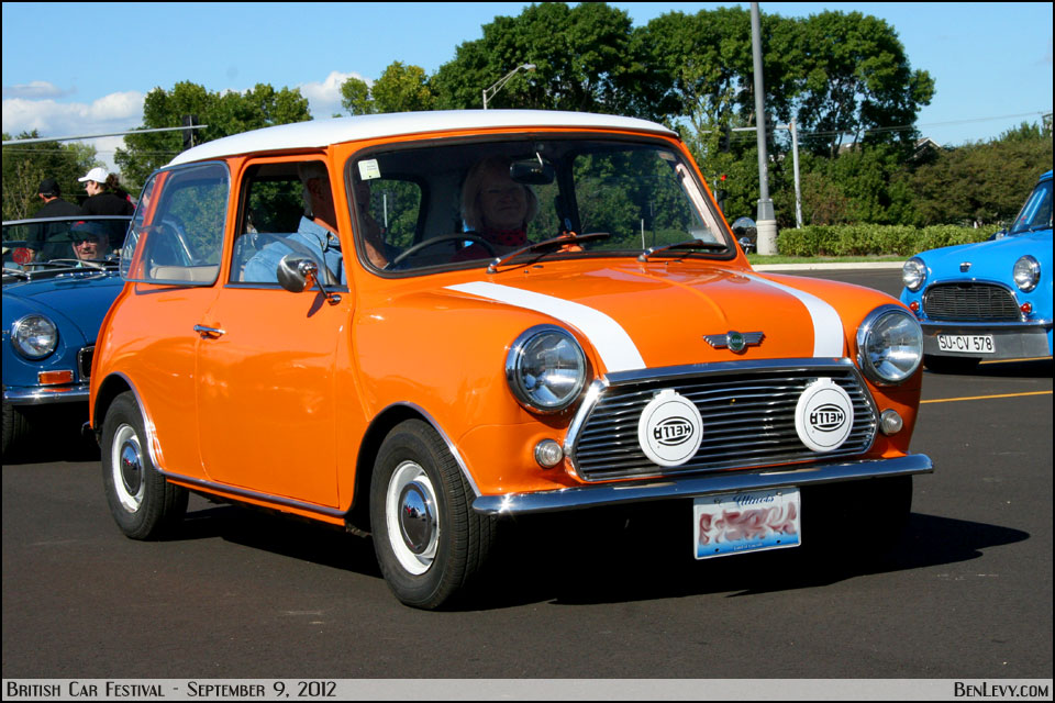 orange mini cooper. Black Bedroom Furniture Sets. Home Design Ideas
