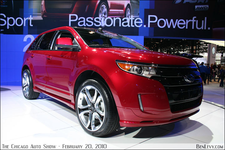 2010 Ford Edge Sport in Red Candy Metallic