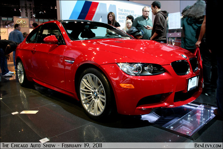2011 Bmw M3 Coupe In Melbourne Red Metallic Benlevy Com
