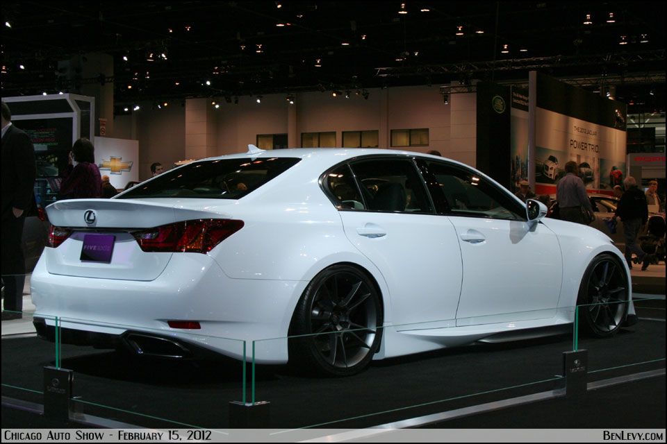 Lexus Gs With Five Axis Widebody Conversion Benlevy Com