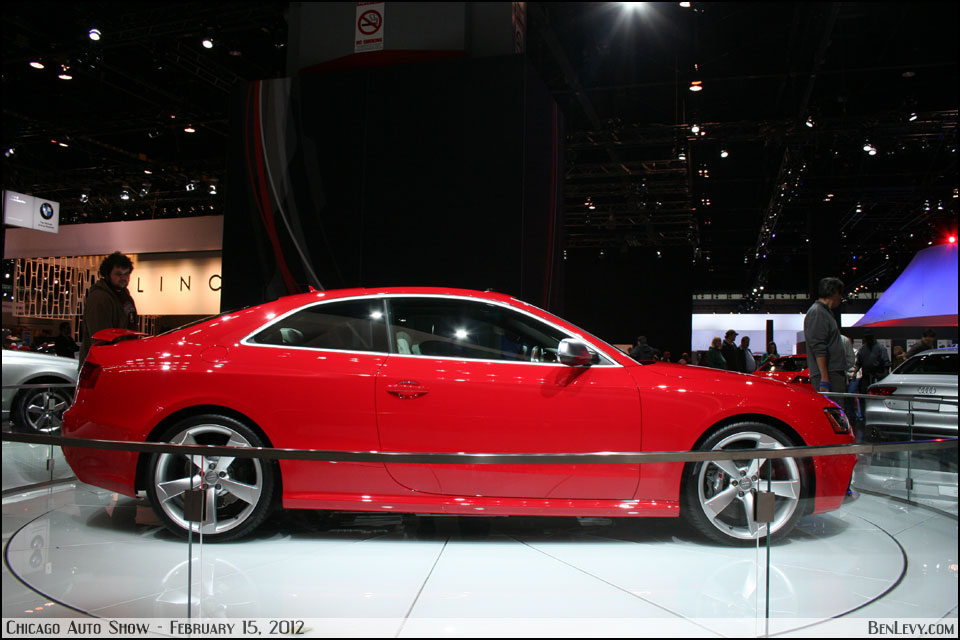 Red Audi RS5 Side