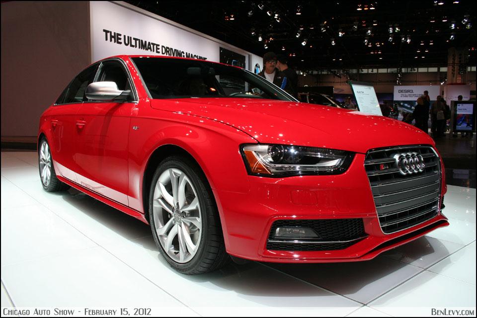 Red Audi S4 Benlevy Com