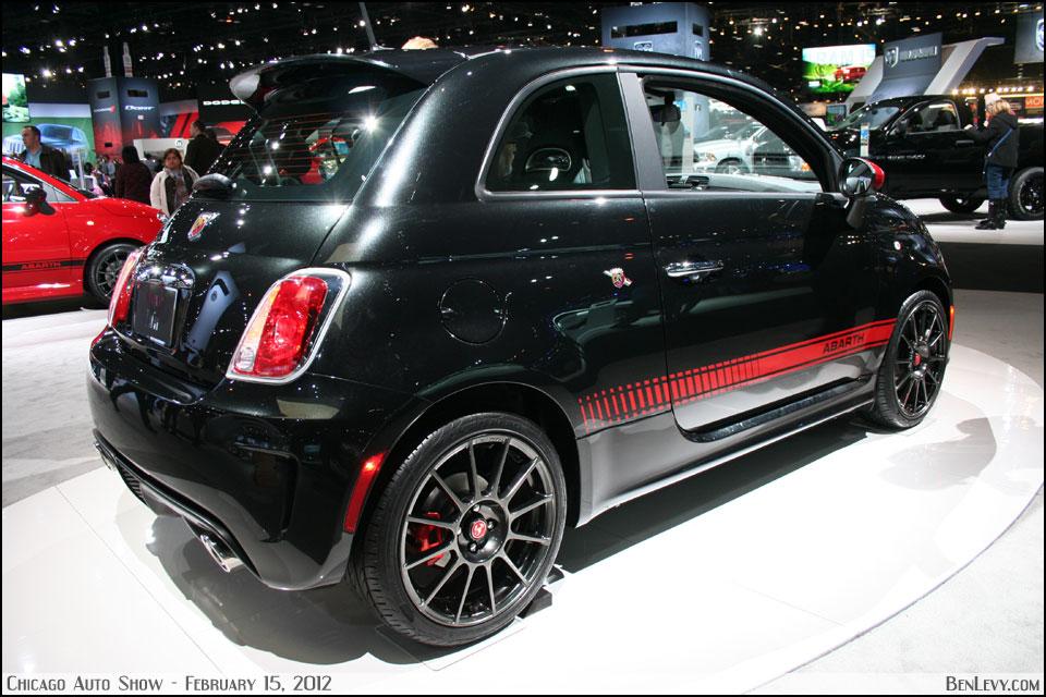 Black Fiat 500 Abarth Benlevy Com