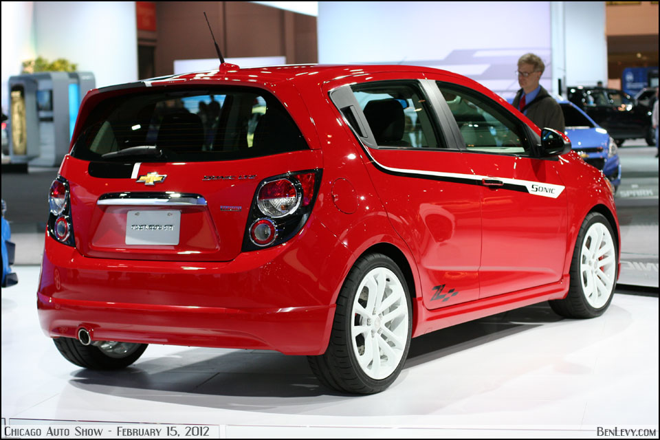 Red Chevy Sonic Concept Benlevy Com