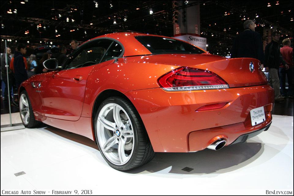 Bmw Z4 In Valencia Orange Benlevy Com