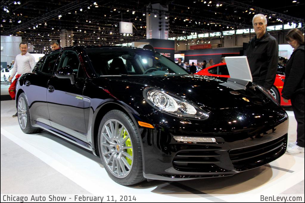 Black 2014 Porsche Panamera S E Hybrid Benlevy Com