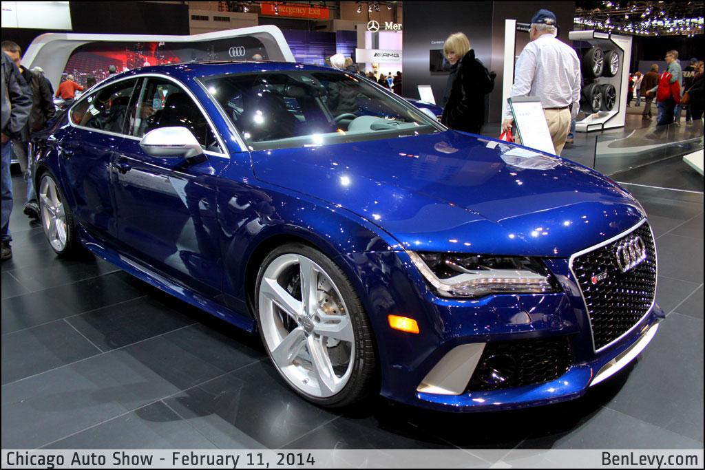 Audi Rs 7 In Estoril Blue Crystal Benlevy Com