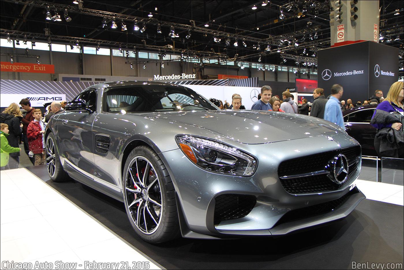 Grey Mercedes-AMG GT S