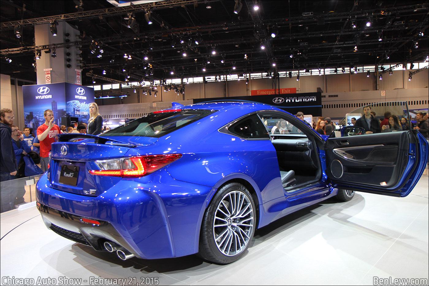 Blue Lexus Rc F Benlevy Com