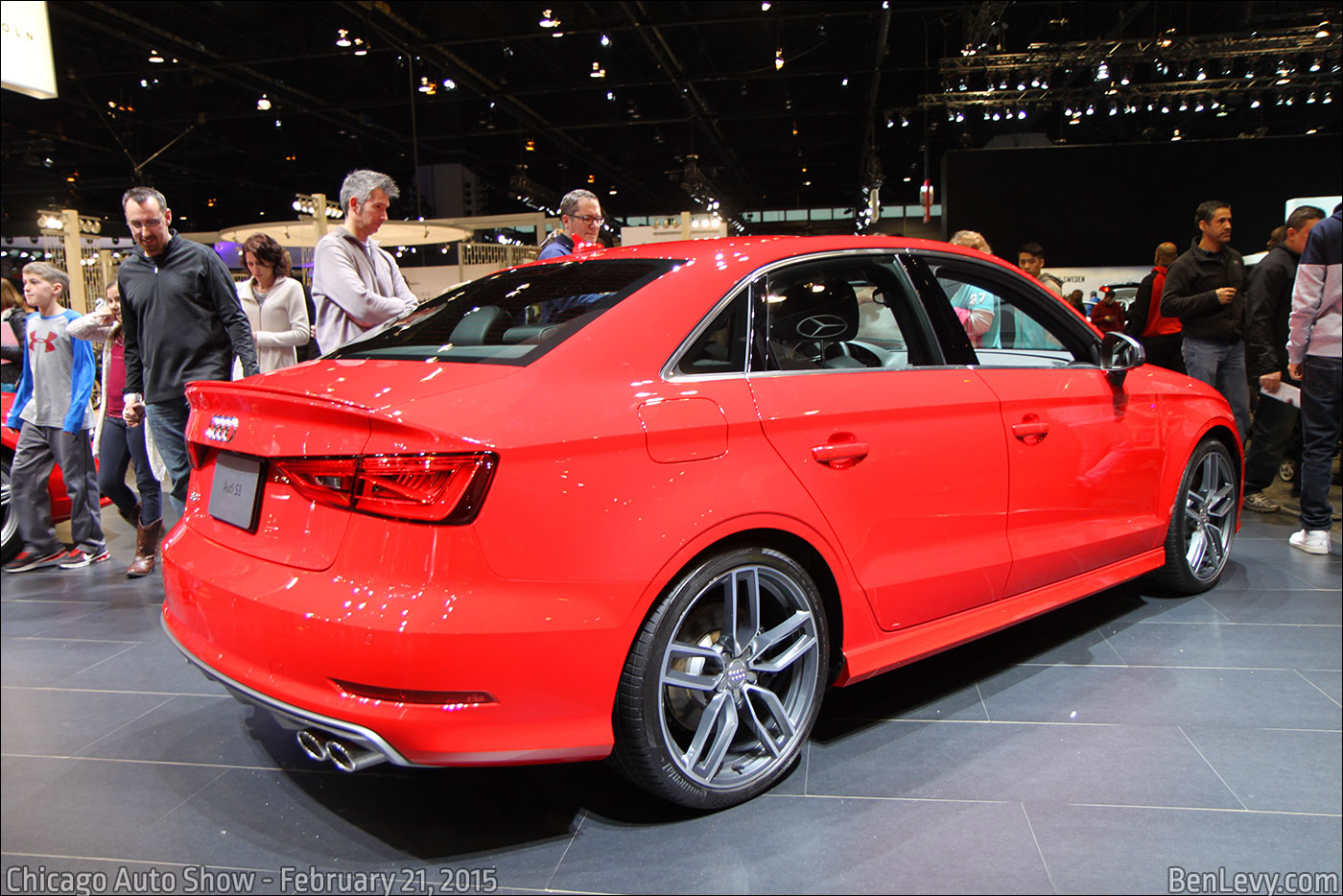 Red Audi S3 Sedan Benlevy Com