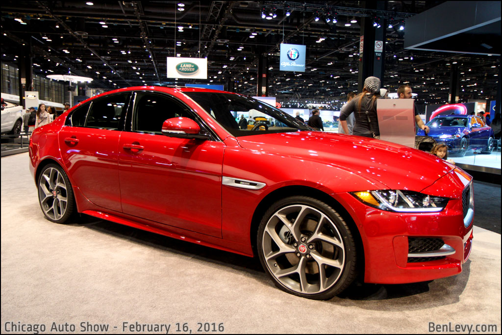 Jaguar Xe R Sport In Italian Racing Red Benlevy Com