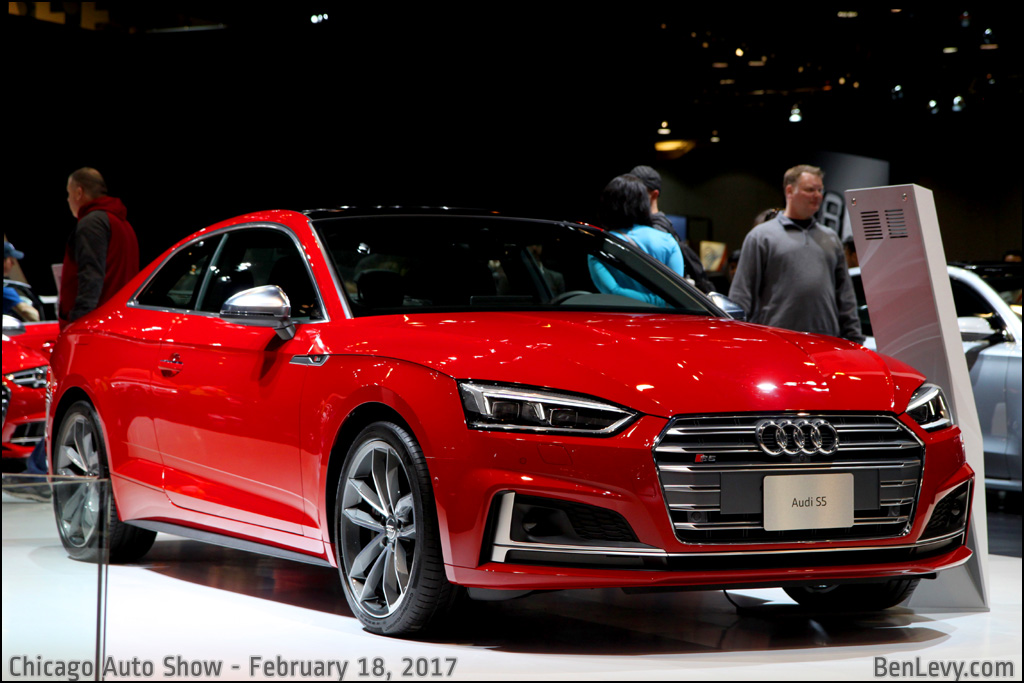 Red Audi S5