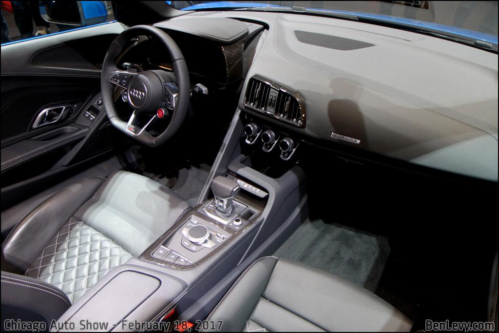 Audi R8 Interior Automatic Audi R8 Spyder ...