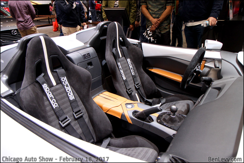 Mazda MX-5 Miata Speedster seats