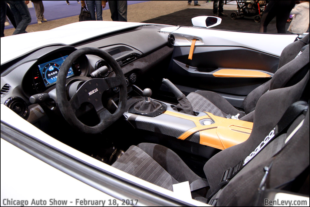 Mazda MX-5 Miata Speedster interior