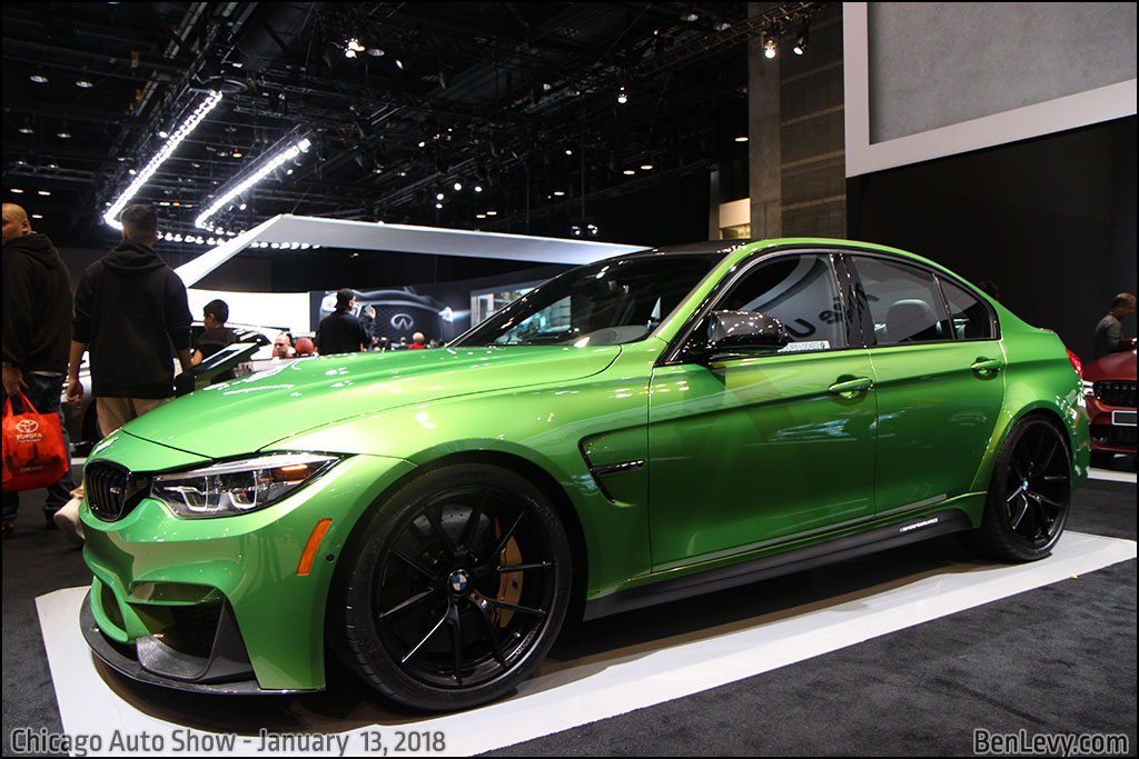 Kia New Cars >> F80 BMW M3 in Java Green - BenLevy.com