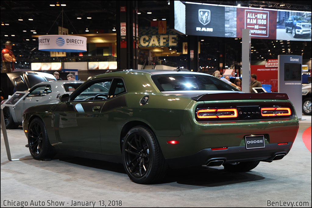 New Honda Motorcycles 2018 >> Dodge Challenger T/A in F8 Green - BenLevy.com
