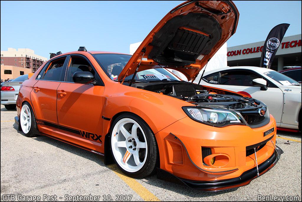 Orange Suabru WRX