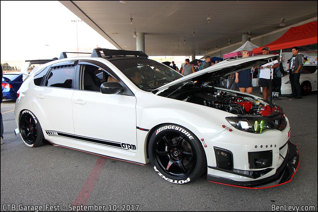White WRX Wagon