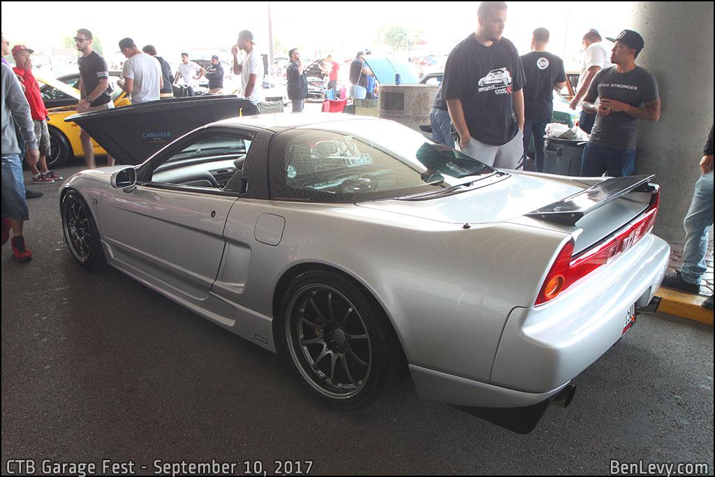 Silver Acura NSX