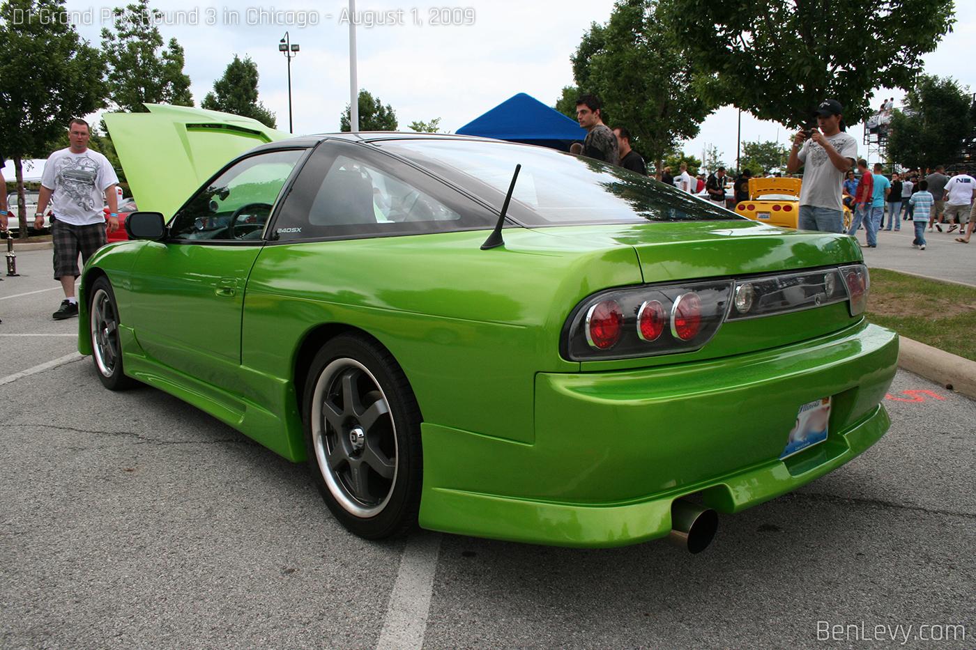 Green 240sx S13 Fastback Benlevy Com