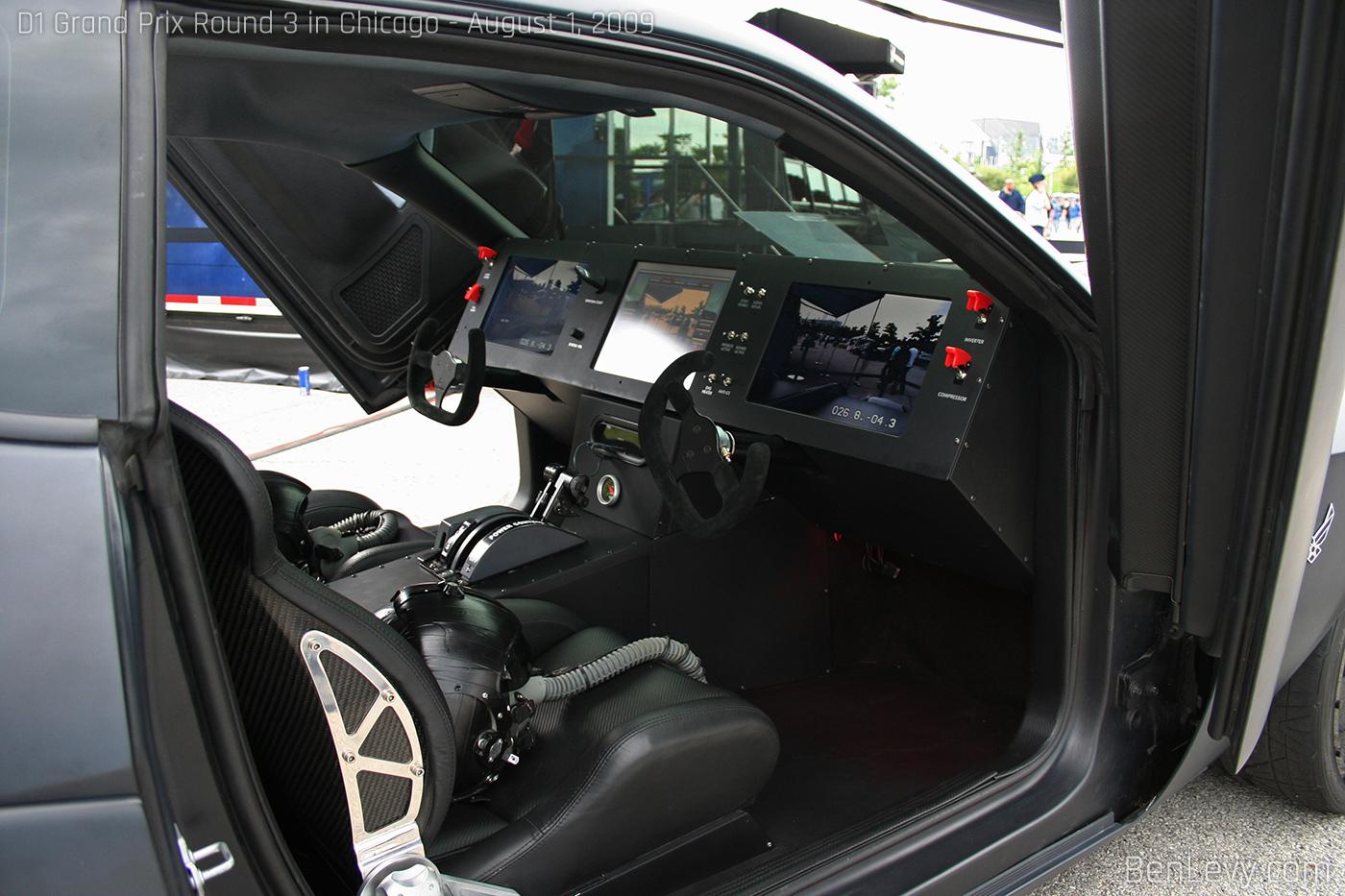 Air Force Dodge Challenger Interior
