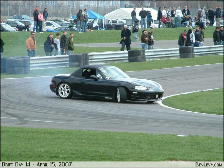 Mazda Miata Drifting Latest Fashion Trend