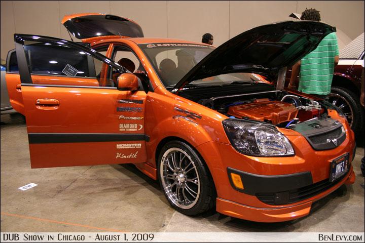 Custom Orange Kia Rio Benlevy Com
