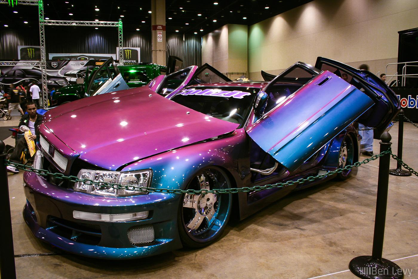 Lexus Ls400 With Chameleon Paint Benlevy Com
