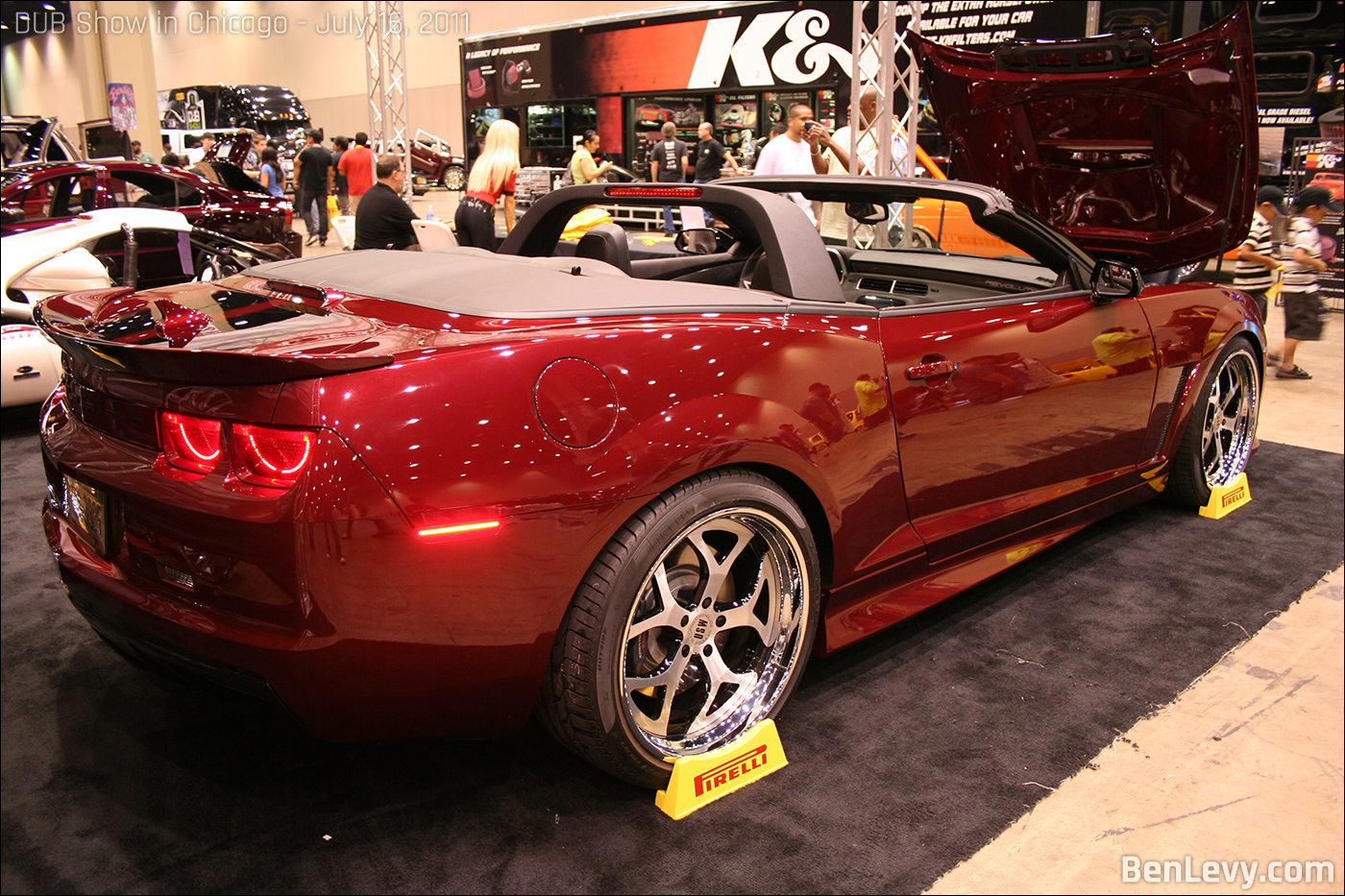 Tricked out Chevrolet Camaro Convertible - BenLevy.com
