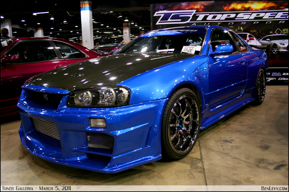 Topspeed Autosport Nissan Skyline GT-R - BenLevy.com