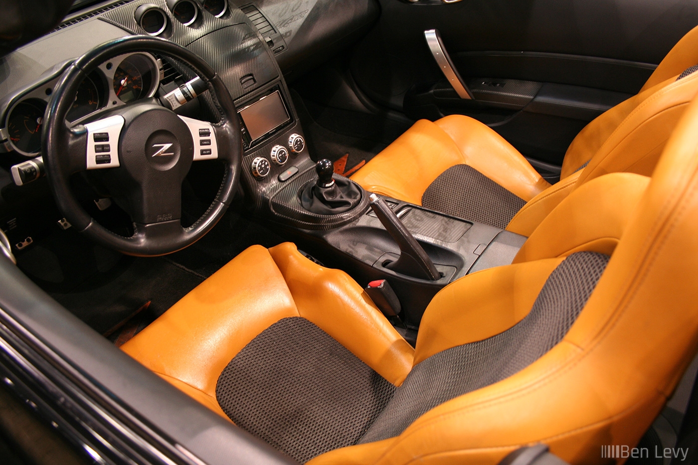 Tan Leather Seats In 350z Roadster Benlevy Com