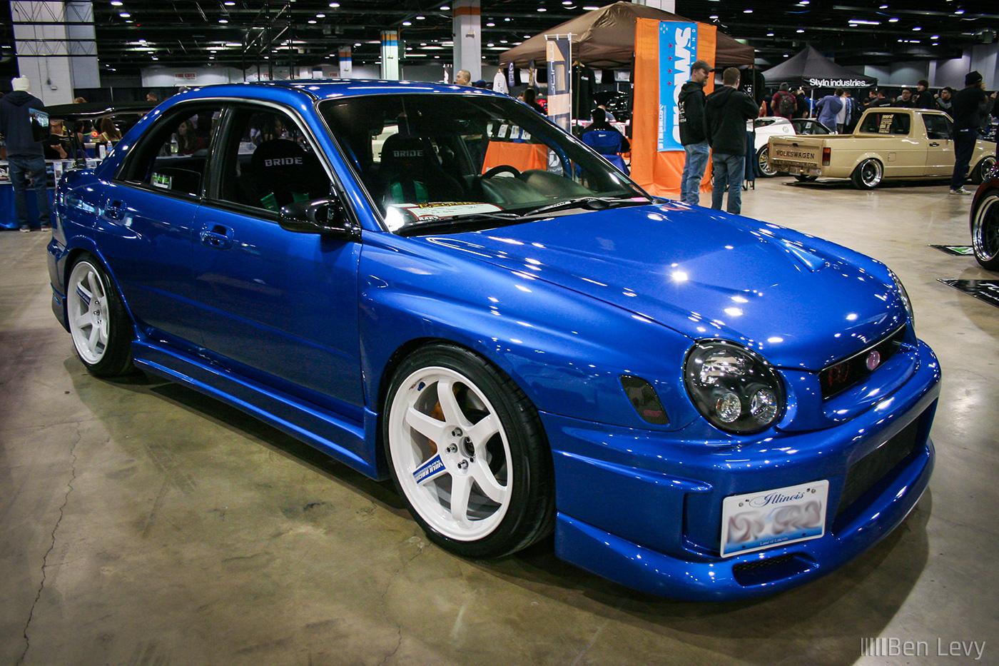 Blue 2003 Subaru Wrx Benlevy Com
