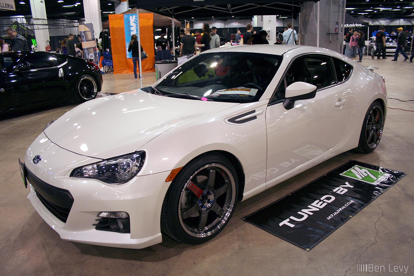 White Subaru Brz Benlevy Com