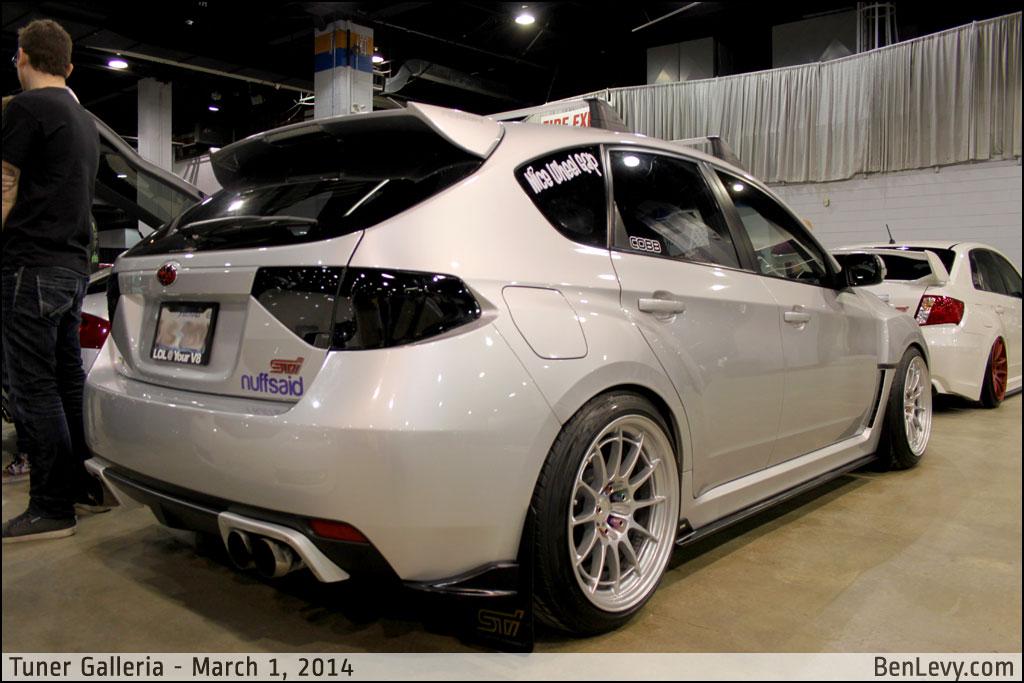 Silver Subaru Wrx Sti Hatchback Benlevy Com
