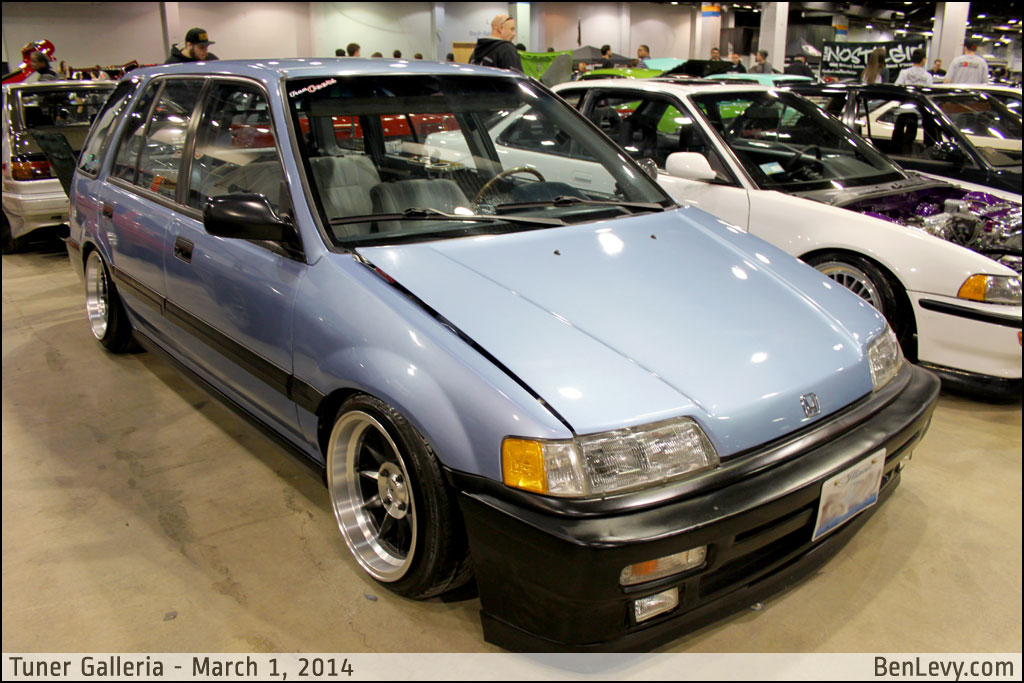 Blue Honda Civic Wagon Benlevy Com