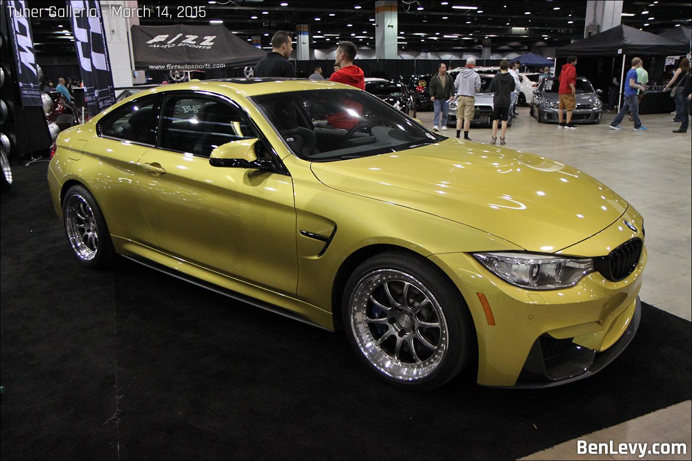 Austin Yellow Metallic Bmw M4 Benlevy Com