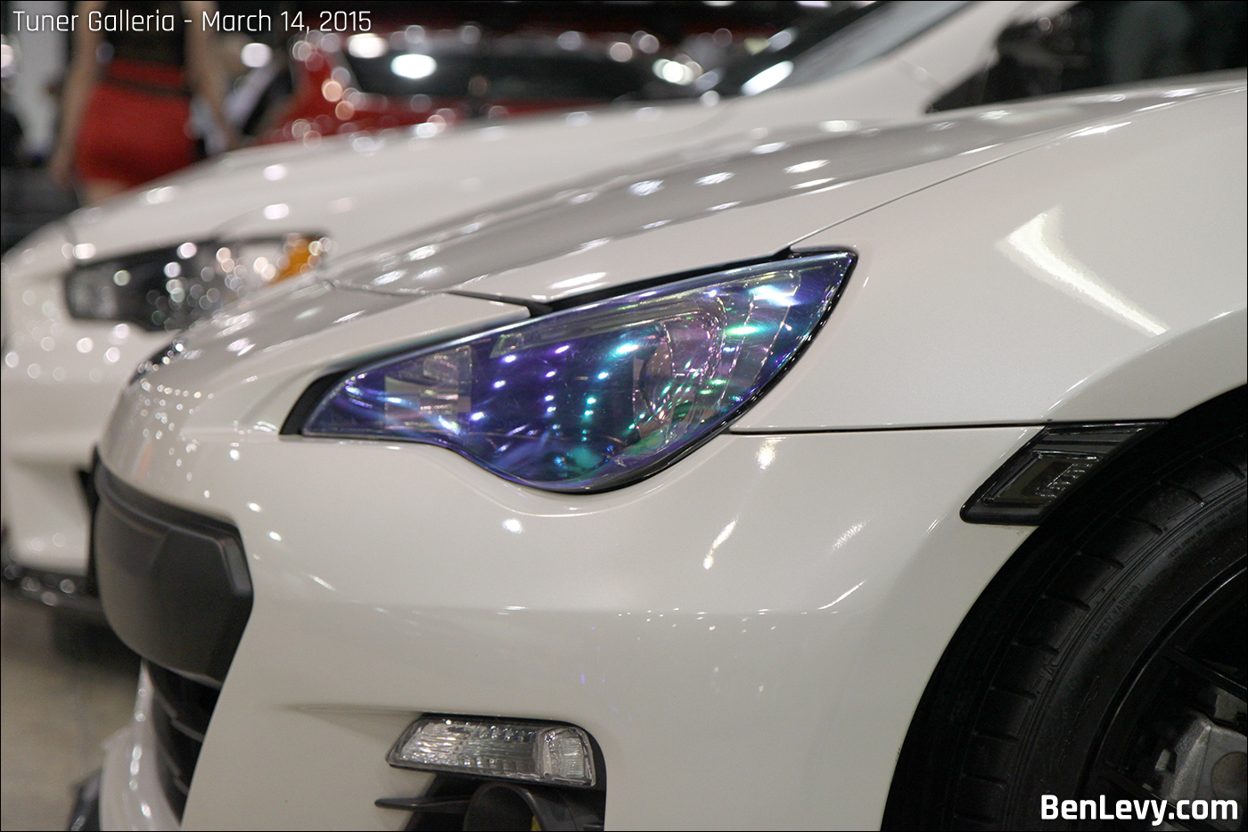Chrysler Lamborghini >> Blue Headlight tint on Subaru BRZ - BenLevy.com