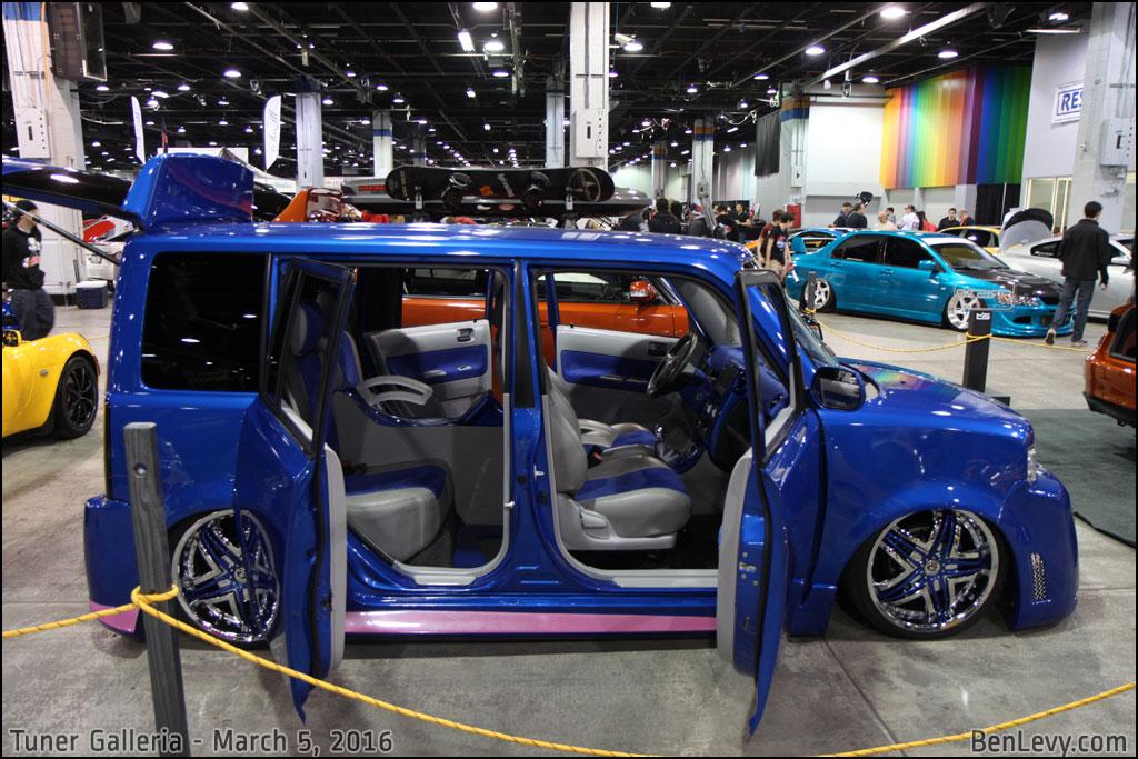 Blue Scion Xb With Suicide Doors Benlevy Com
