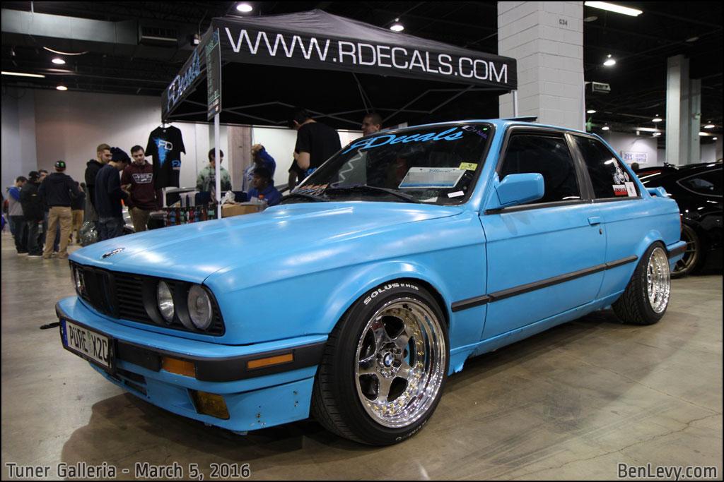 Baby Blue E30 BMW - BenLevy.com