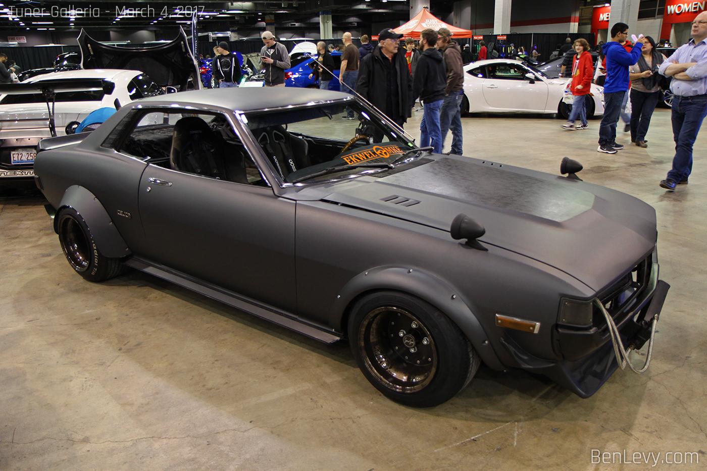 Matte Black Toyota Celica